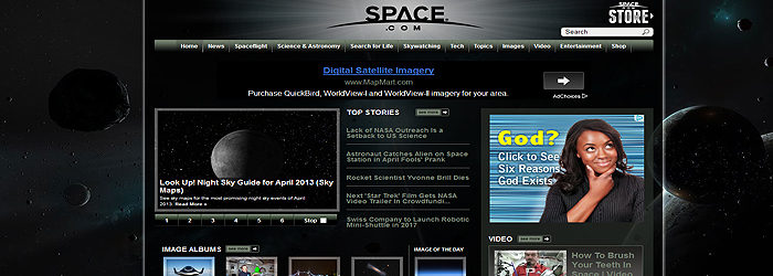 space-website